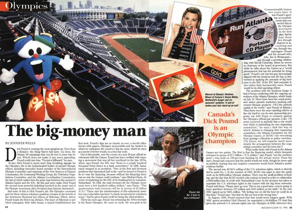 Article Preview: The big-money man, June 1996 | Maclean's