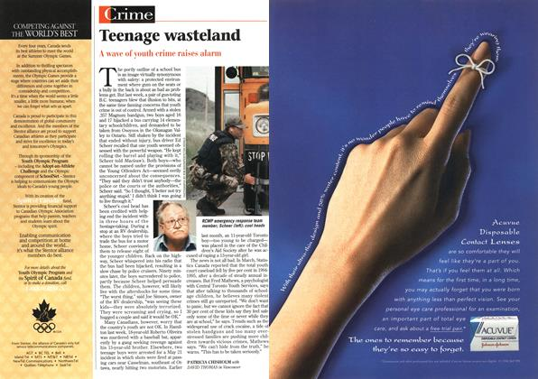 Article Preview: Teenage wasteland, June 1996 | Maclean's