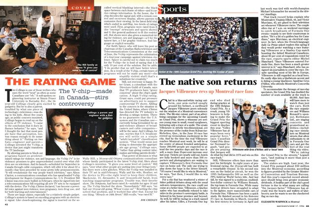 Article Preview: The native son returns, June 1996 | Maclean's