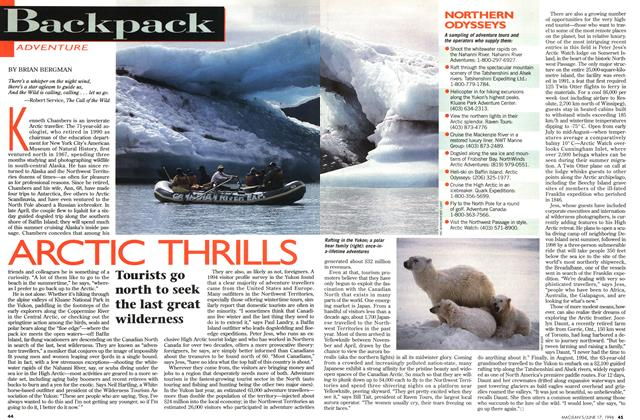 Article Preview: ARCTIC THRILLS, June 1996 | Maclean's