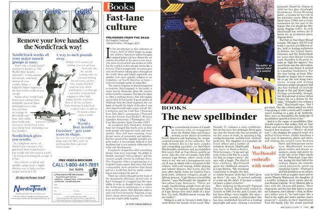 Article Preview: The new spellbinder, June 1996 | Maclean's