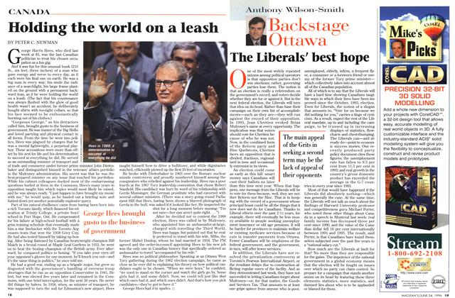 Article Preview: The Liberals' best hope, June 1996 | Maclean's