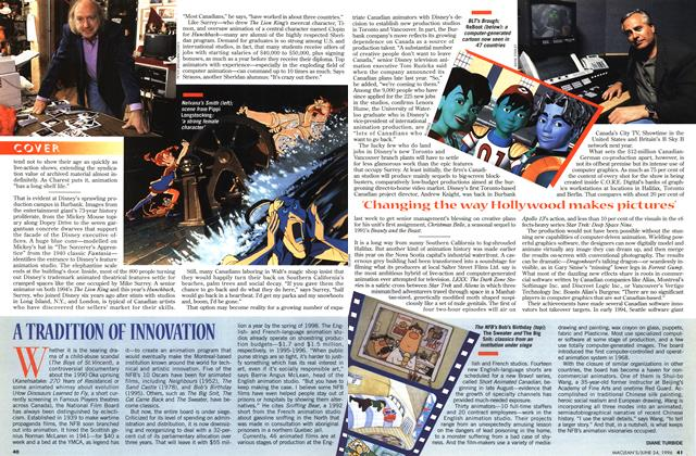 Article Preview: A TRADITION OF INNOVATION, June 1996 | Maclean's