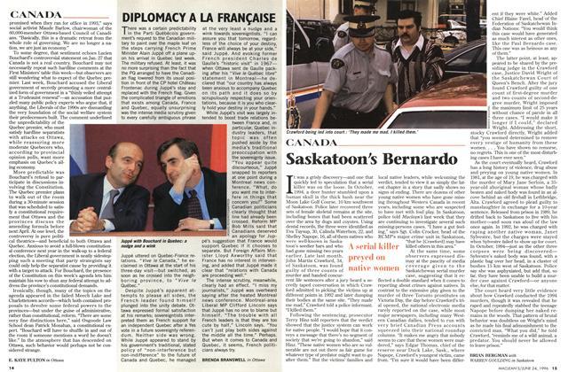 Article Preview: Saskatoon's Bernardo, June 1996 | Maclean's