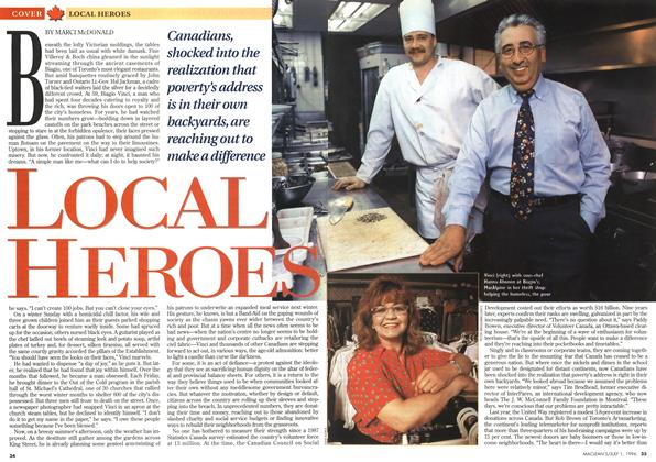 Article Preview: LOCAL HEROES, July 1996 | Maclean's