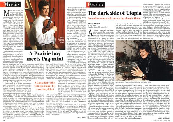 Article Preview: A Prairie boy meets Paganini, July 1996 | Maclean's