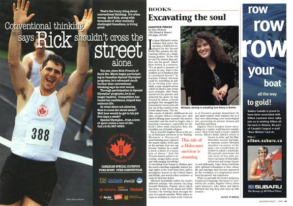 Article Preview: Excavating the soul, July 1996 | Maclean's