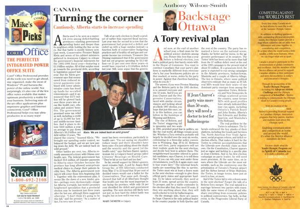 Article Preview: Turning the corner, July 1996 | Maclean's