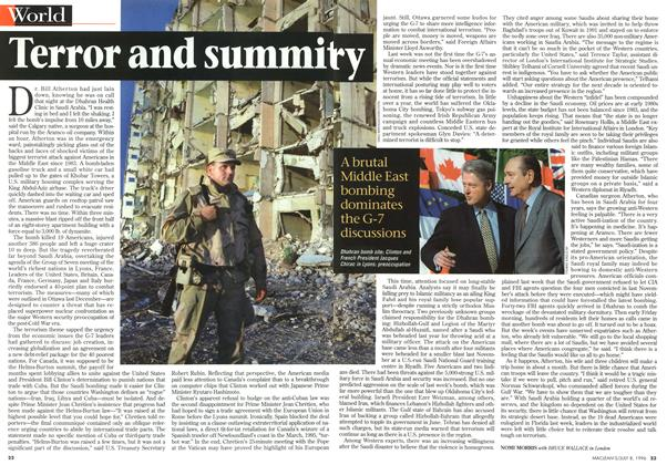 Article Preview: Terror and summitry, July 1996 | Maclean's