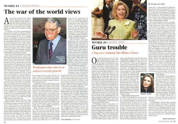 Article Preview: The war of the world views, July 1996 | Maclean's