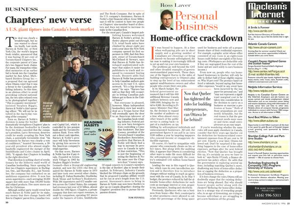 Article Preview: Home-office crackdown, July 1996 | Maclean's