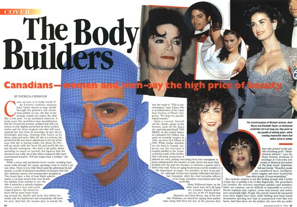 Article Preview: The Body Builders, July 1996 | Maclean's