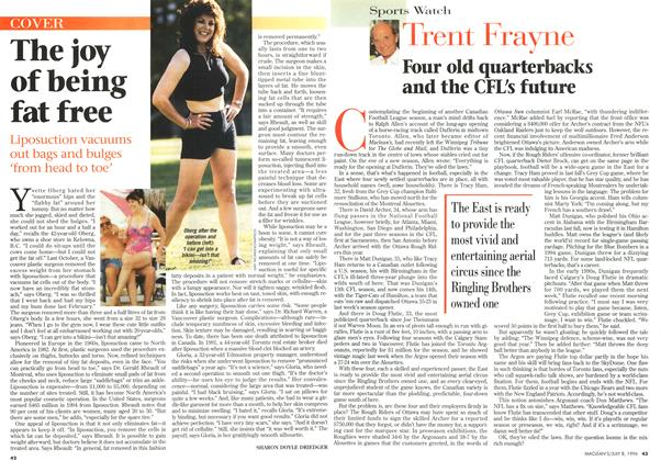 Article Preview: The joy of being fat free, July 1996 | Maclean's