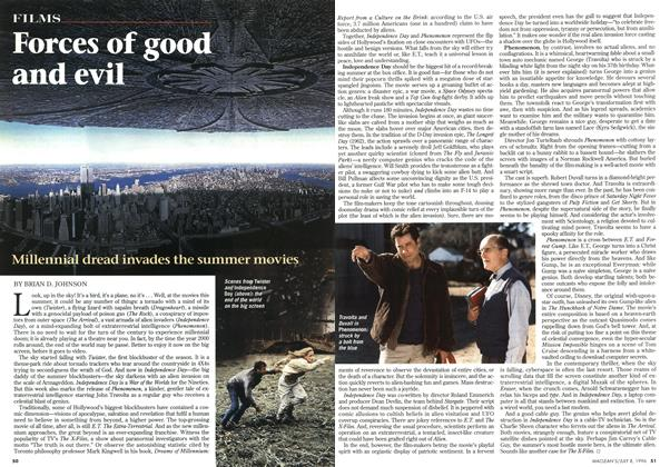 Article Preview: Forces of good and evil, July 1996 | Maclean's