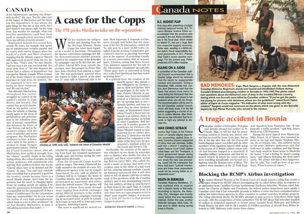 Article Preview: A case for the Copps, July 1996 | Maclean's