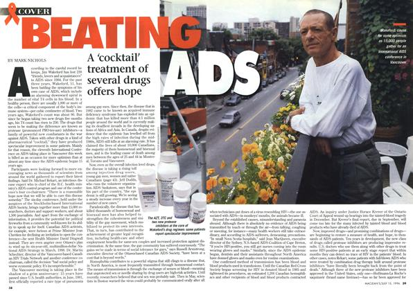 Article Preview: BEATING AIDS, July 1996 | Maclean's