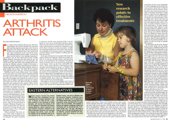 Article Preview: ARTHRITIS ATTACK, July 1996 | Maclean's