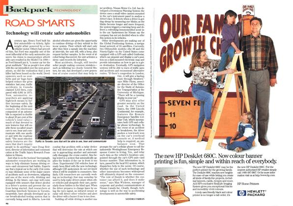 Article Preview: ROAD SMARTS, July 1996 | Maclean's