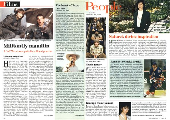 Article Preview: Militantly maudlin, July 1996 | Maclean's