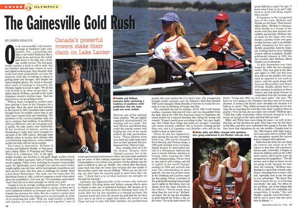 Article Preview: The Gainesville Gold Rush, July 1996 | Maclean's