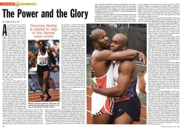 Article Preview: The Power and the Glory, July 1996 | Maclean's