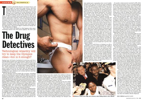Article Preview: The Drug Detectives, July 1996 | Maclean's