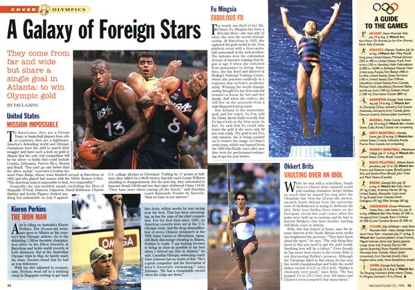 Article Preview: A Galaxy of Foreign Stars, July 1996 | Maclean's