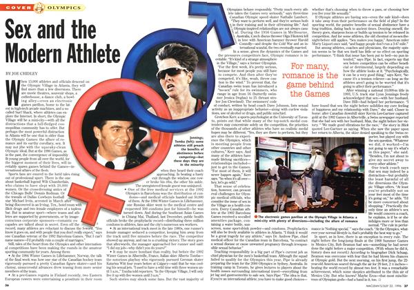 Article Preview: Sex and the Modern Athlete, July 1996 | Maclean's