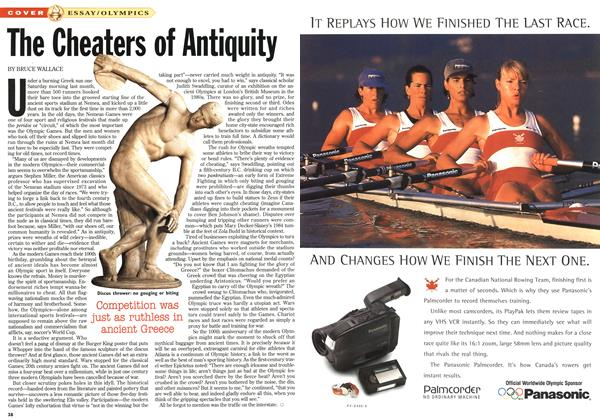 Article Preview: The Cheaters of Antiquity, July 1996 | Maclean's