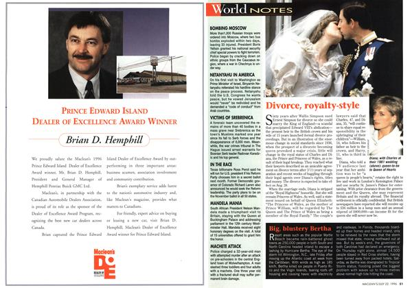 Article Preview: World NOTES, July 1996 | Maclean's