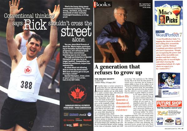 Article Preview: A generation that refuses to grow up, July 1996 | Maclean's