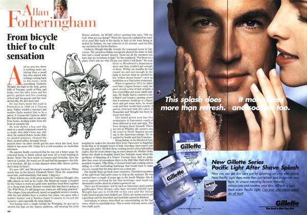 Article Preview: From bicycle thief to cult sensation, July 1996 | Maclean's