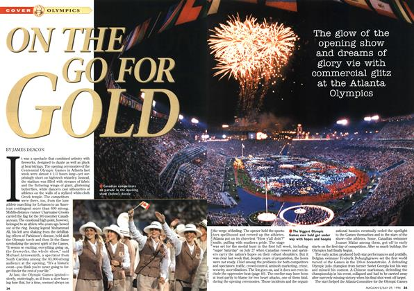 Article Preview: ON THE GO FOR GOLD, July 1996 | Maclean's