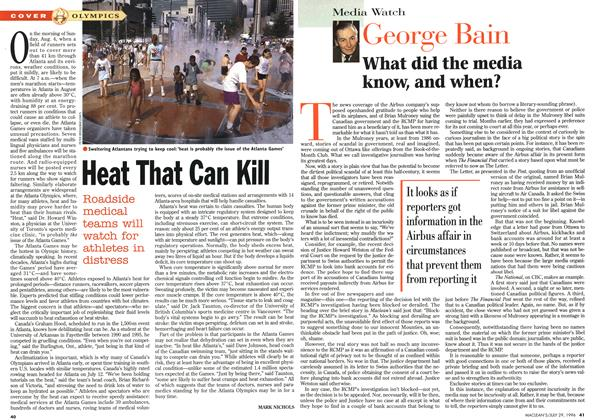 Article Preview: Heat That Can Kill, July 1996 | Maclean's