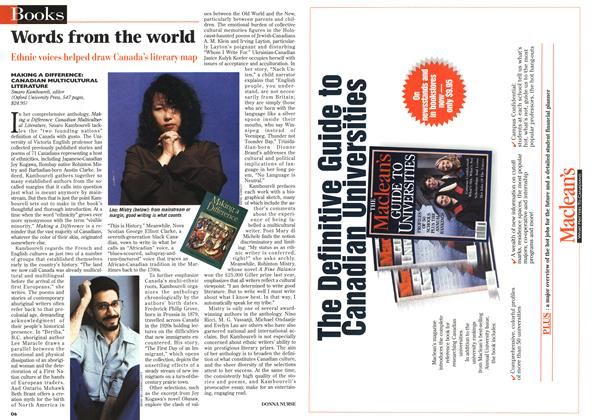 Article Preview: Words from the world, July 1996 | Maclean's
