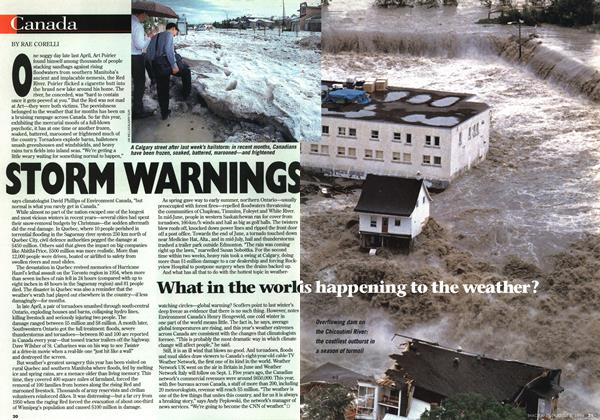 Article Preview: STORM WARNINGS, August 1996 | Maclean's