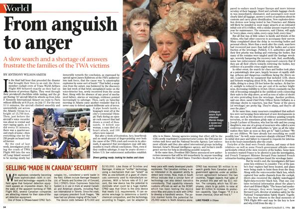 Article Preview: From anguish to anger, August 1996 | Maclean's