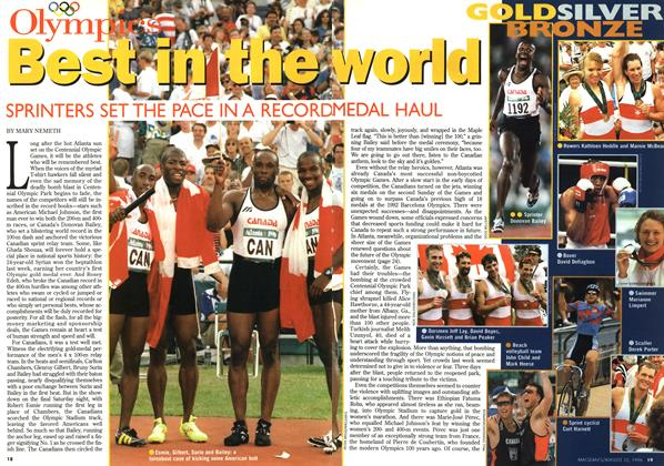 Article Preview: Best in the world, August 1996 | Maclean's