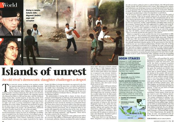Article Preview: Islands of unrest, August 1996 | Maclean's