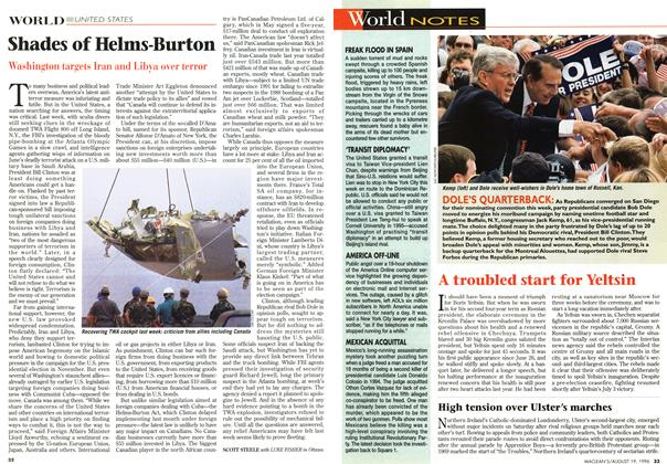 Article Preview: Shades of Helms-Burton, August 1996 | Maclean's