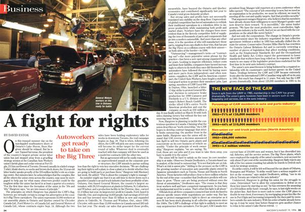 Article Preview: A fight for rights, August 1996 | Maclean's