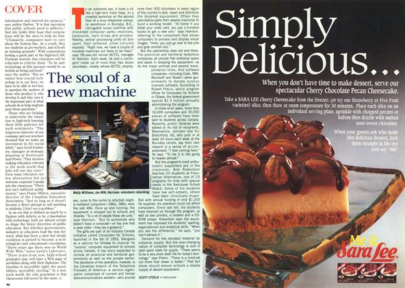 Article Preview: The soul of a new machine, August 1996 | Maclean's