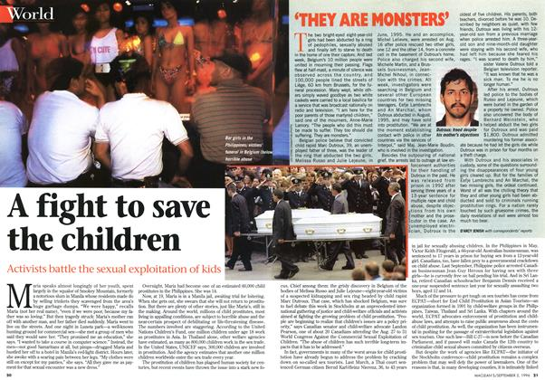 Article Preview: A fight to save the children, September 1996 | Maclean's