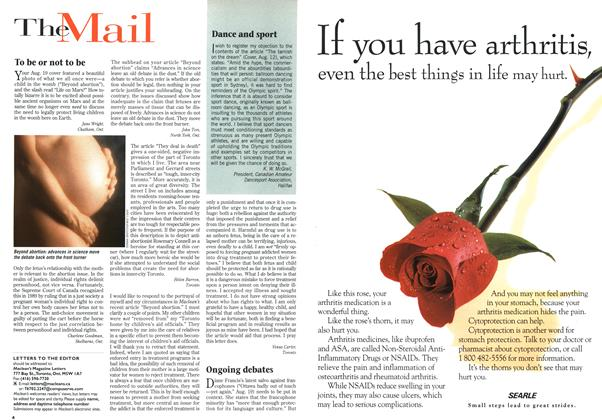 Article Preview: The Mail, September 1996   Maclean's