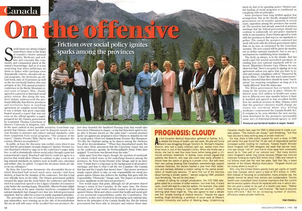 Article Preview: On the offensive, September 1996 | Maclean's
