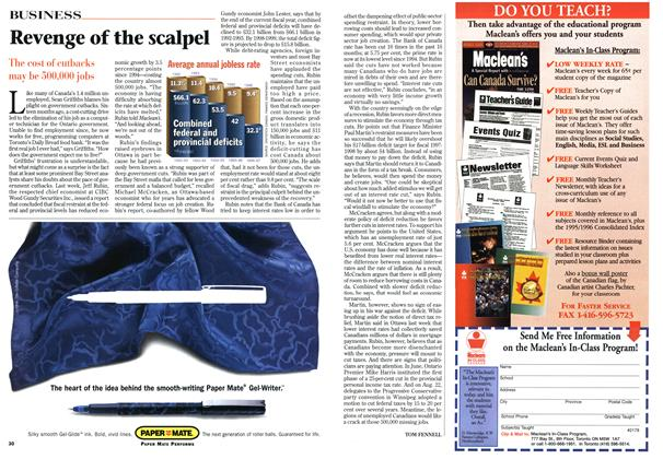 Article Preview: Revenge of the scalpel, September 1996 | Maclean's