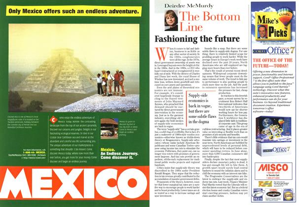 Article Preview: The Bottom Line, September 1996 | Maclean's