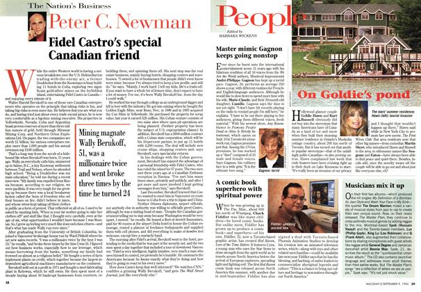 Article Preview: Fidel Castro's special Canadian friend, September 1996 | Maclean's