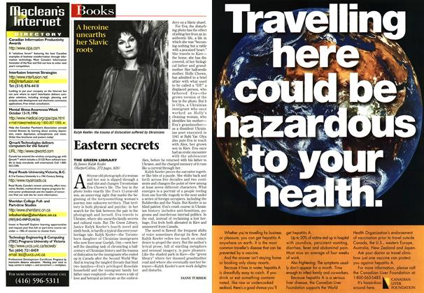 Article Preview: Eastern secrets, September 1996 | Maclean's