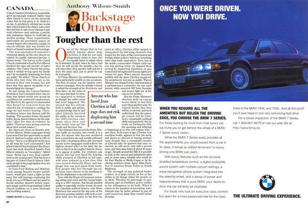 Article Preview: Tougher than the rest, September 1996 | Maclean's